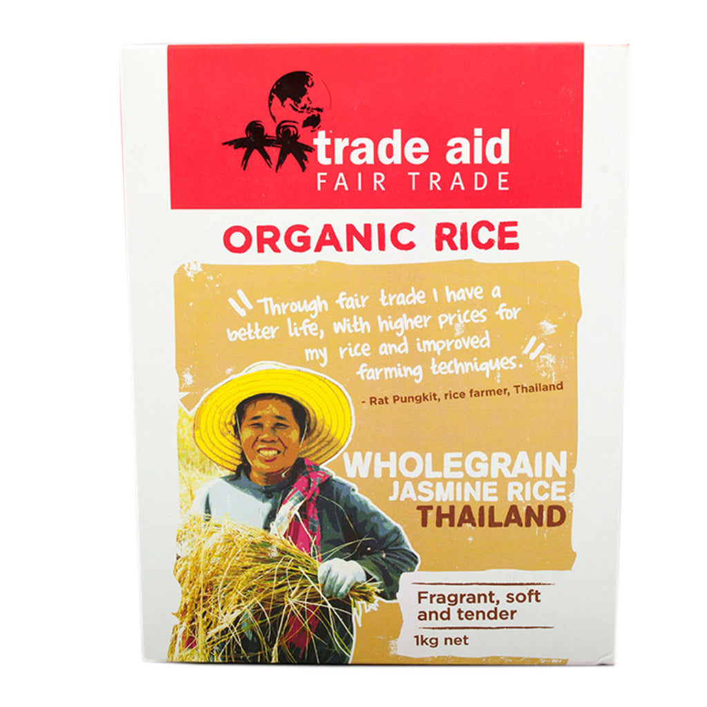 Trade Aid Importers Brown Organic Jasmine Rice