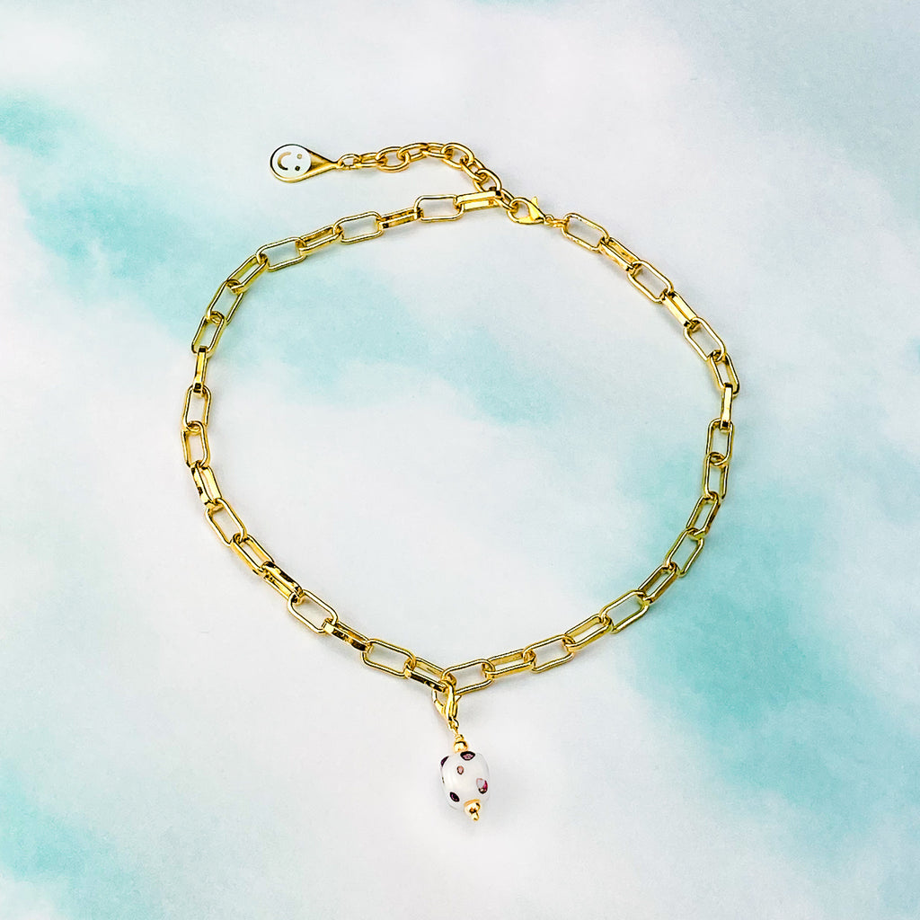 Charming Choker in Gold