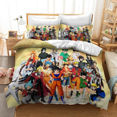 Housse de Couette <br /> 200x200 Dragon Ball Z