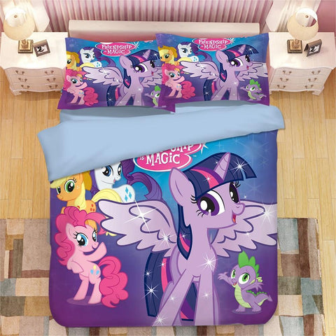 Housse de Couette <br /> 200x200 My Little Pony