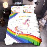 Housse De Couette Licorne Magical Day