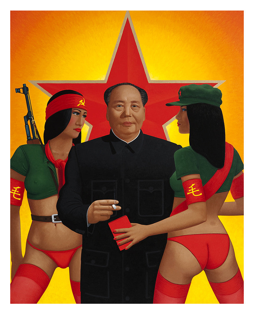 A womanizer, Mao established USO style entertainment for his troops in order to have his pick of young women for his sexual pleasure.