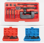 Chain Breaker Set with Carrying Case Professional Chain Cutter and Riveter Removal Repair Tool for Motorcycle, Bike, ATV