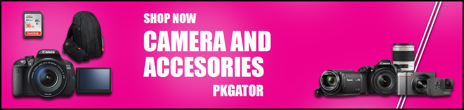 Camera And Accessories in Pakistan