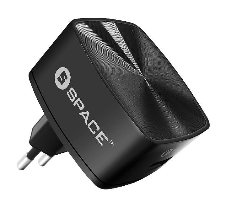 New Exclusive SPACE WC-130 TYPE-C Quick Charger 3.0 Wall Charger