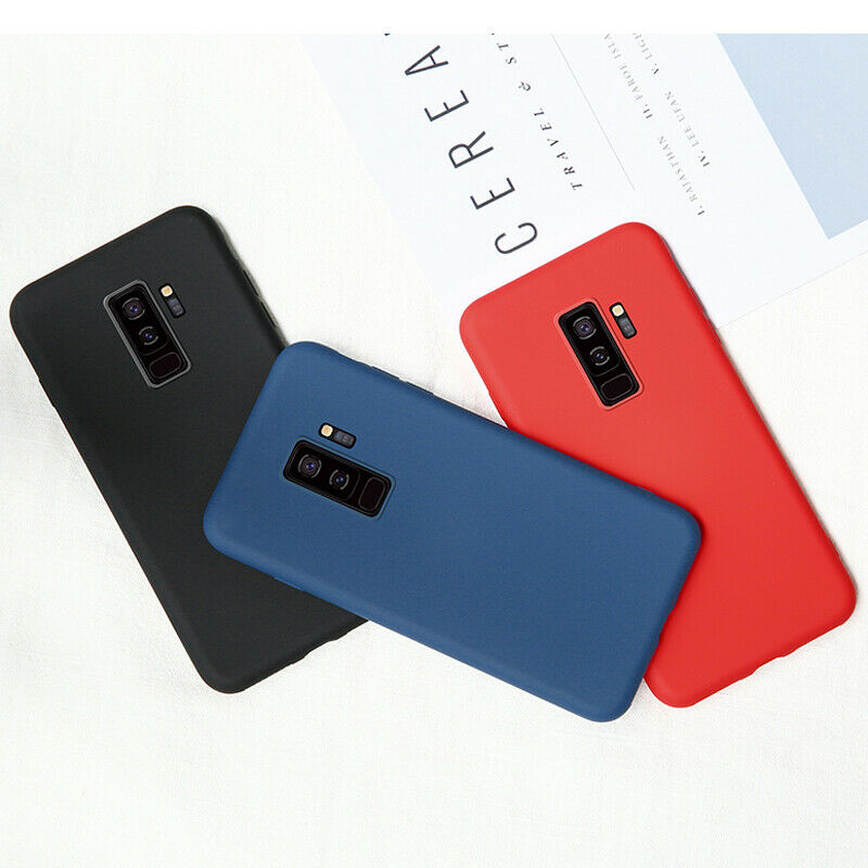 New Luxury Soft Silicone Candy Color Phone Cover For Samsung