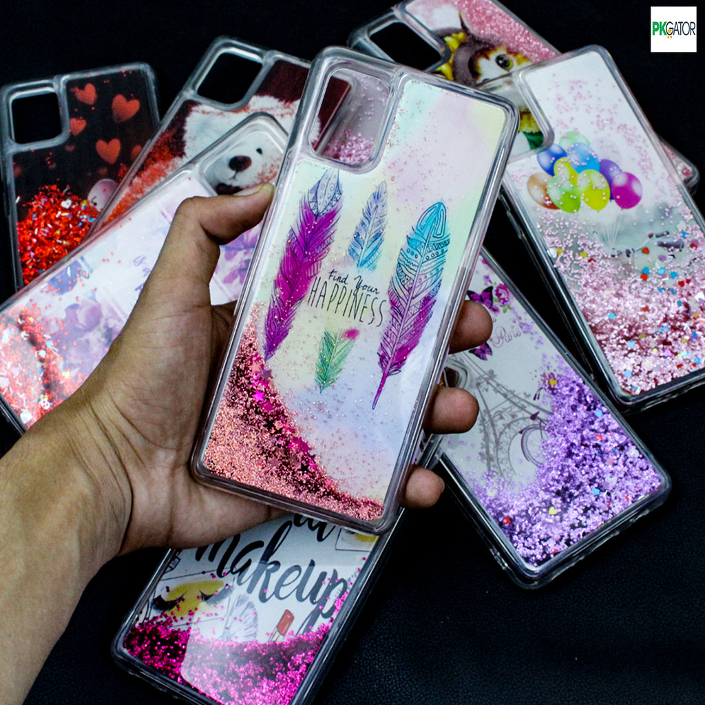 Best Inside Picture Sand Glitters Mobile Liquid Phone Case For iPhone