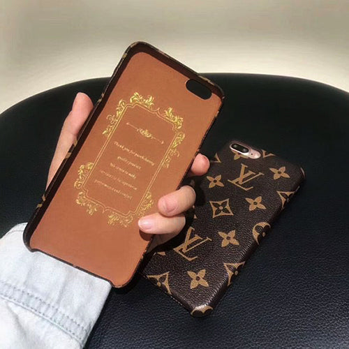 New Stylish Louis Vuitton Classic Leather Soft Case For iPhone