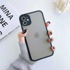 Fancy Matte Frosted Phone Case with Camera Lens Protection For iPhone 7/8