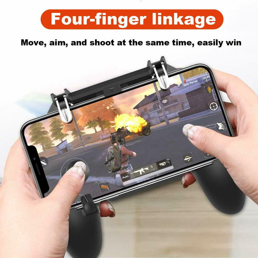 W11 PUBG Mobile Phone Game-pad Wireless Controller Joystick