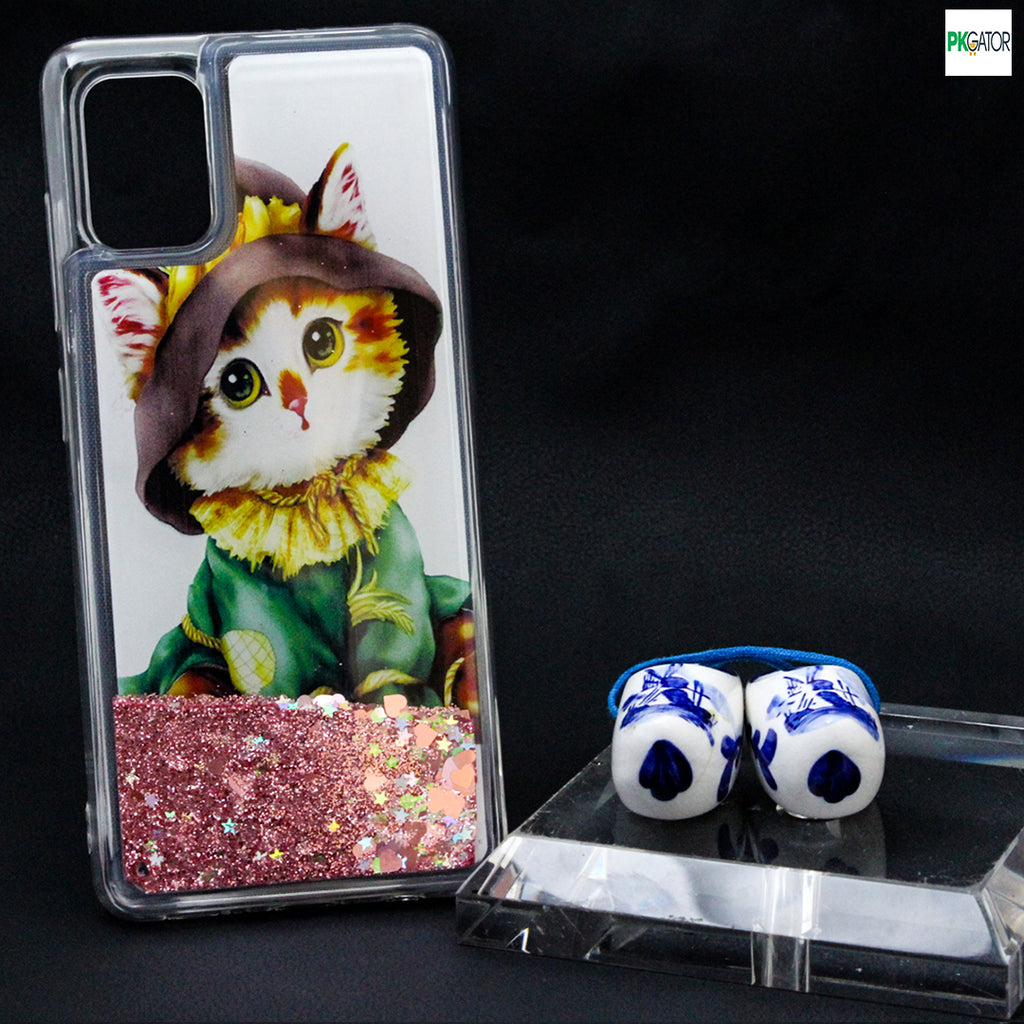 Best Inside Picture Sand Glitters Mobile Liquid Phone Case For Oppo