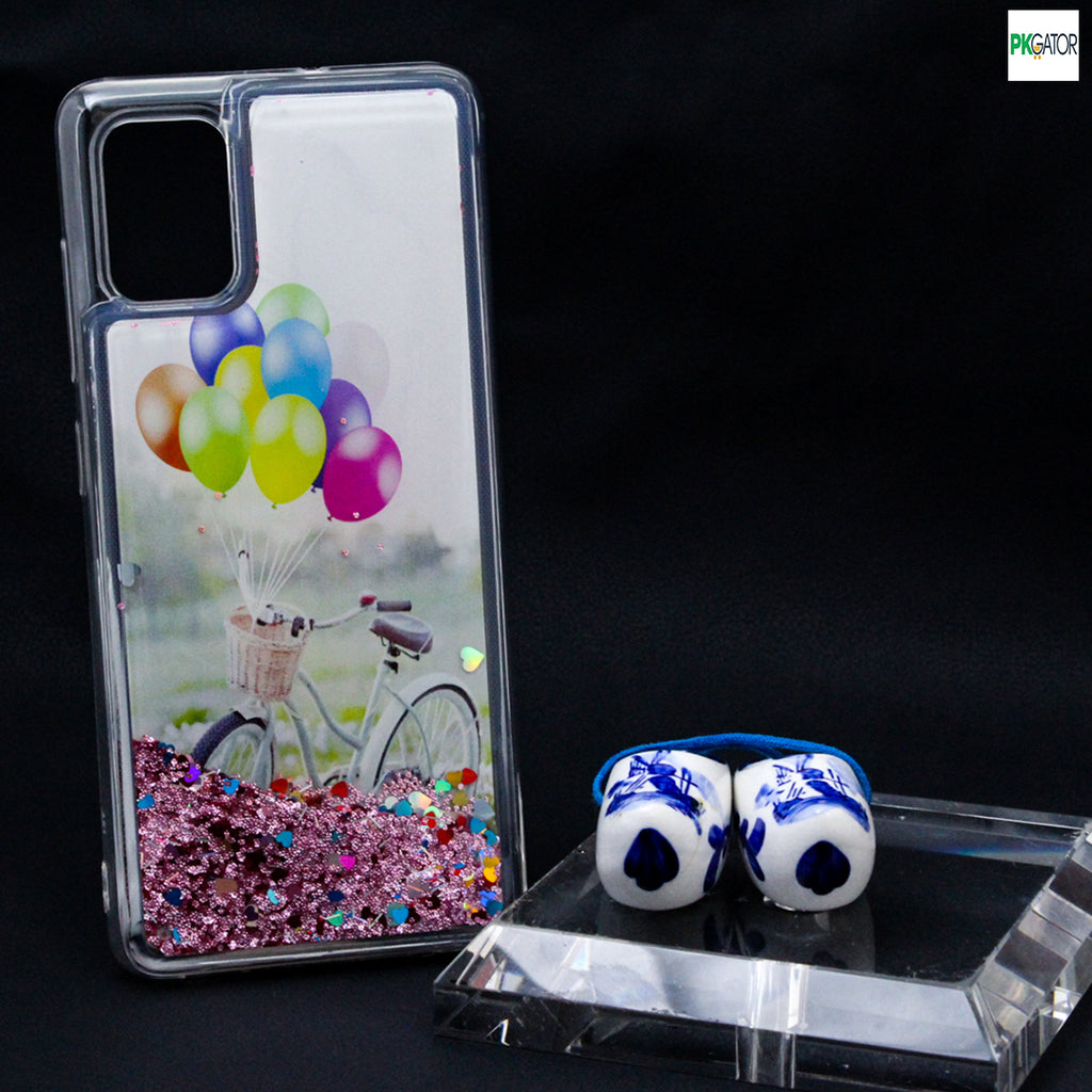 Best Inside Picture Sand Glitters Mobile Liquid Phone Case For Samsung