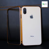 New Exclusive Magnetic Hard Tempered Glass Case For iPhone