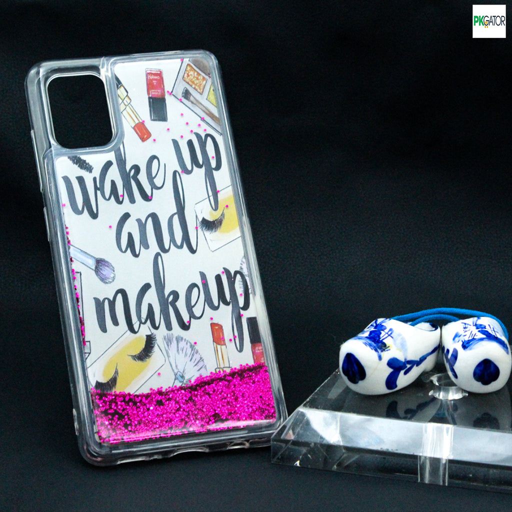 Best Inside Picture Sand Glitters Mobile Liquid Phone Case For Vivo