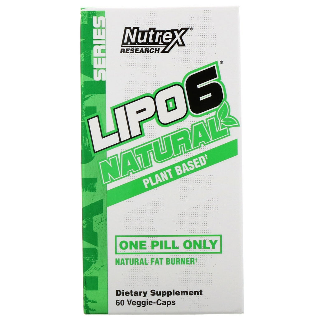 New NUTREX Lipo 6 Black Natural Plant 60C Supplement