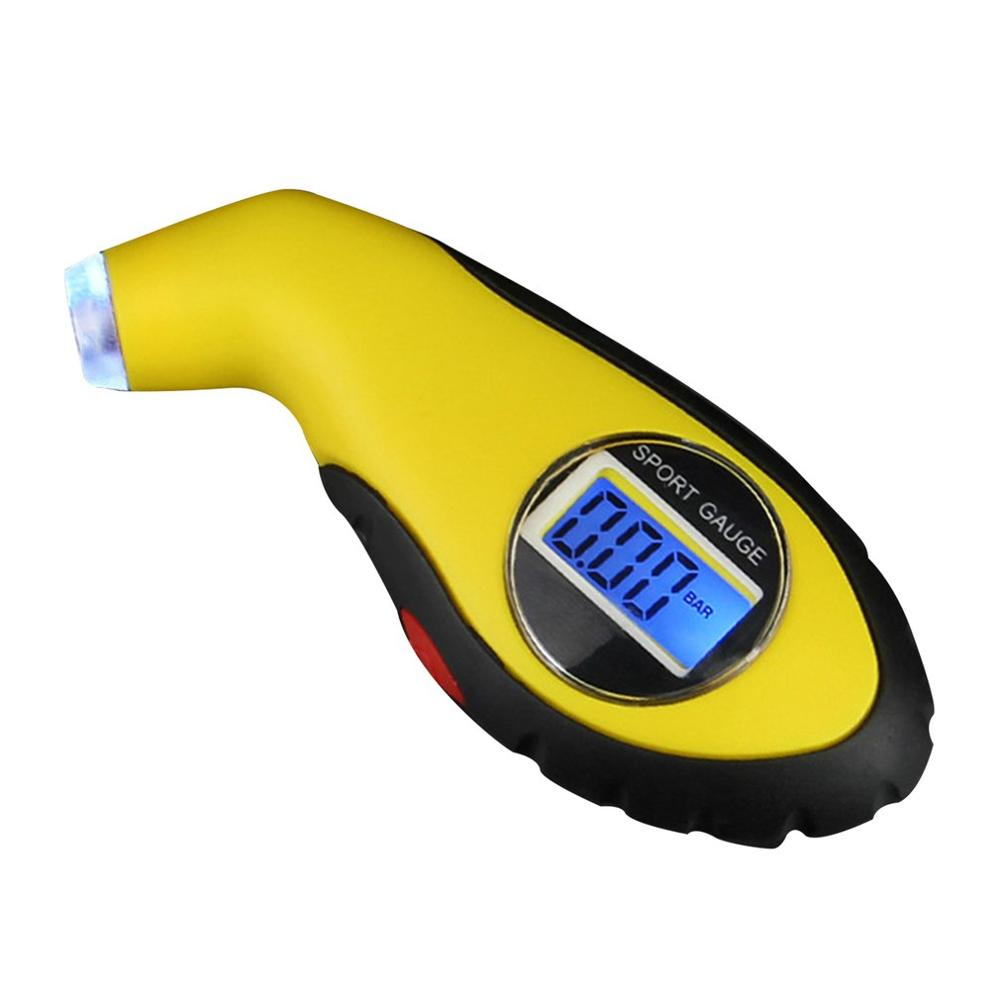 New Stylish Digital Tire Pressure Gauge With LCD Display