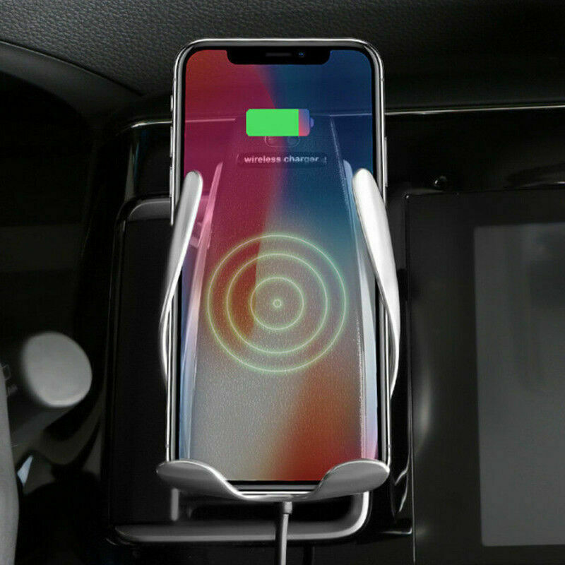 New S6 Smart Sensor Car Wireless Charger With Mobile Holder