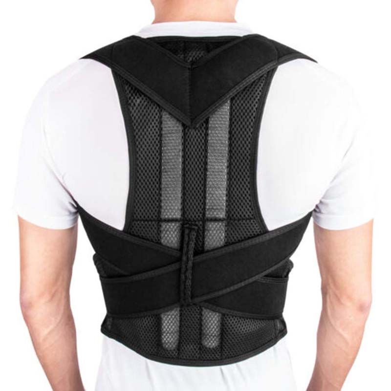 New Trendy Posture Corrector Back Brace Adjustable Straightener