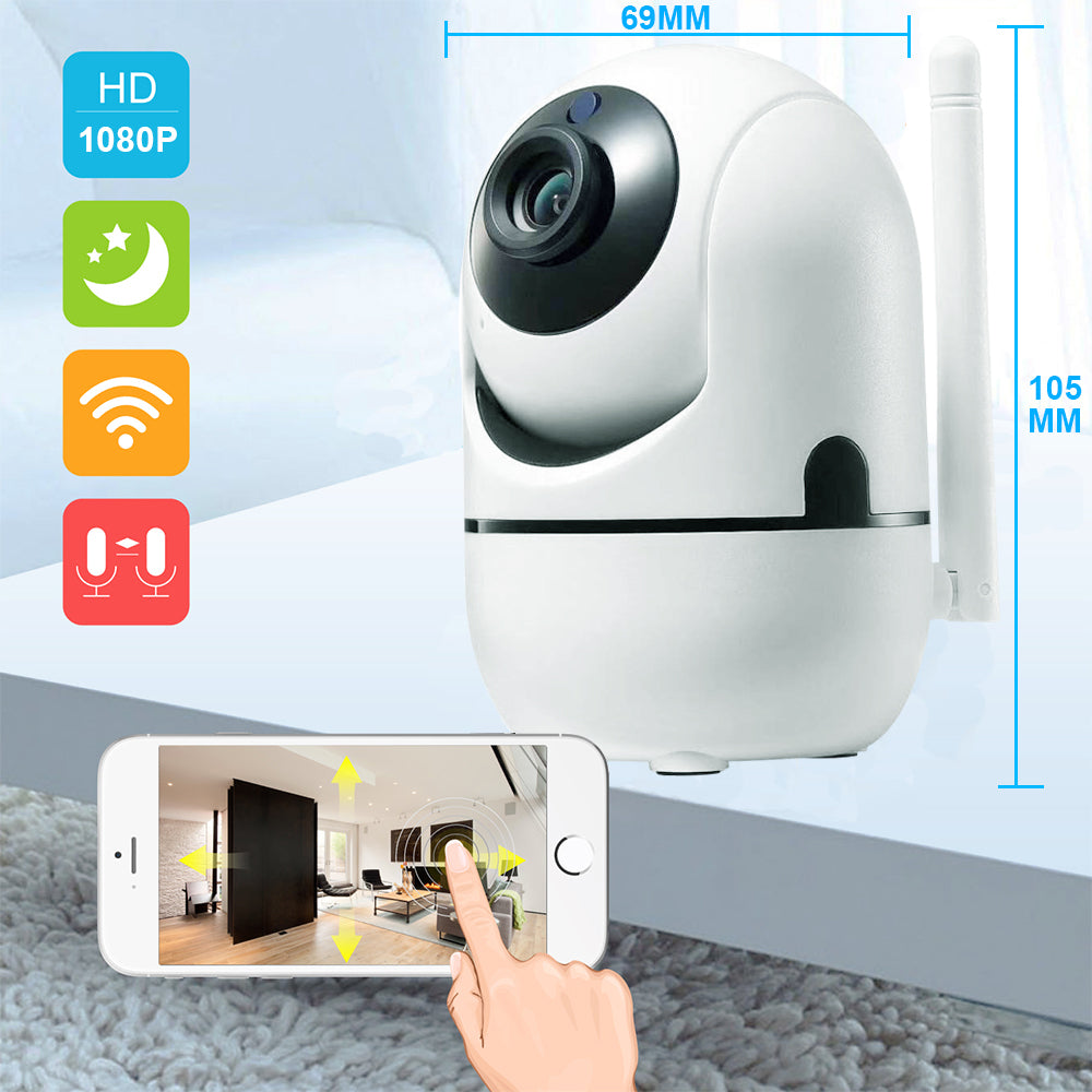 ip 3d tracking camera wireless