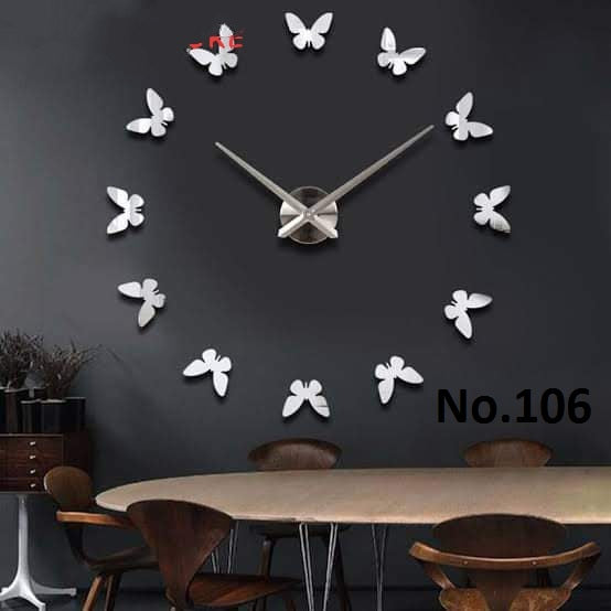 Crystal Beautiful & Stylish DIY Wall Clock Design 007