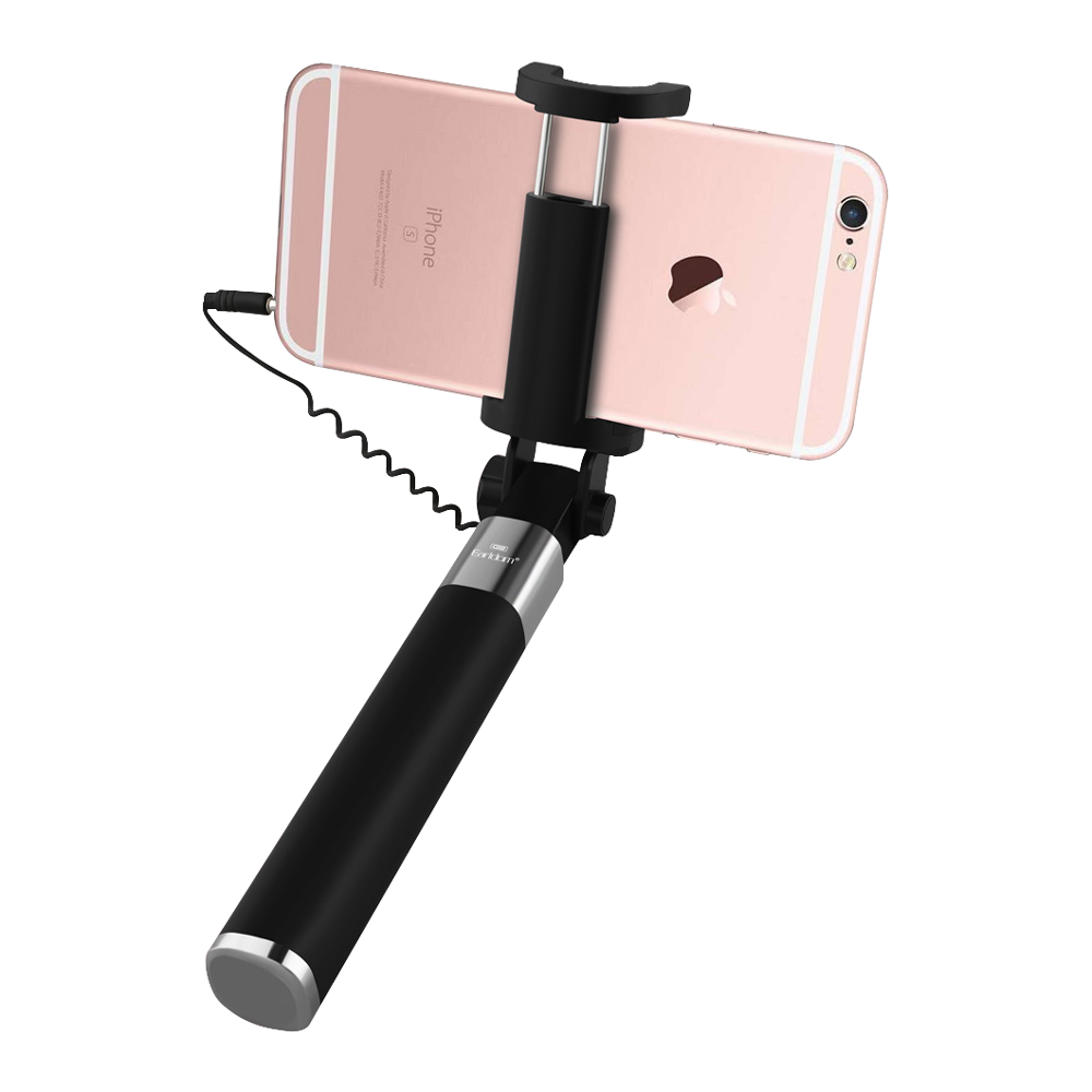 New Exclusive P5 Mini Selfie Stick With Cable For Easier Selfie Shoot - Pkgator