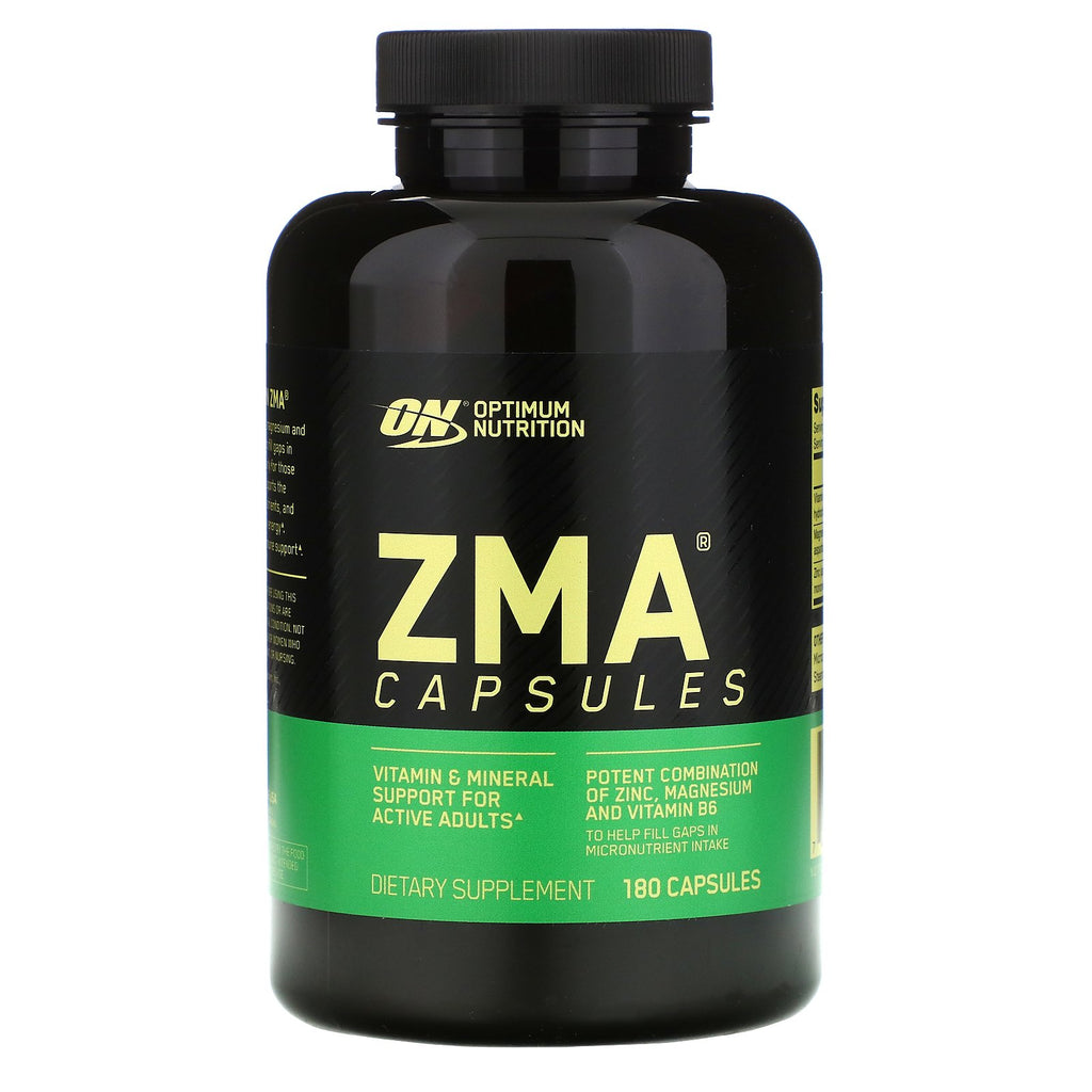 New ZMA 180 Capsules Supplement For Men Women