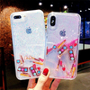 Cosmetic Makeup Moving Liquid Glitter Phone Case For iPhone - Pkgator