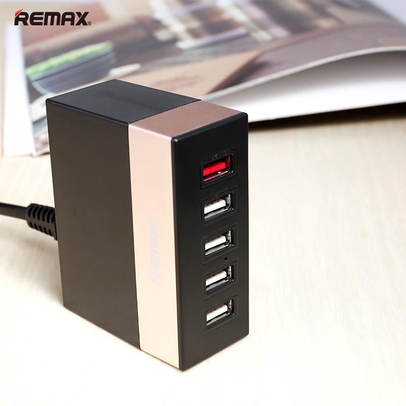 Stylish Remax Ru-U1  5-Usb Ports Charging Hub