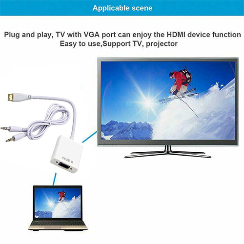 Laptop To TV HDMI Cable