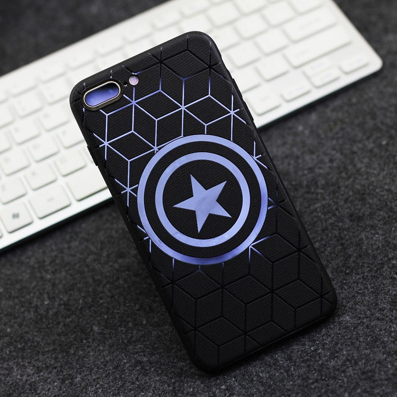 New Latest Marvel Avengers Captain Shield Superhero Case for iPhone