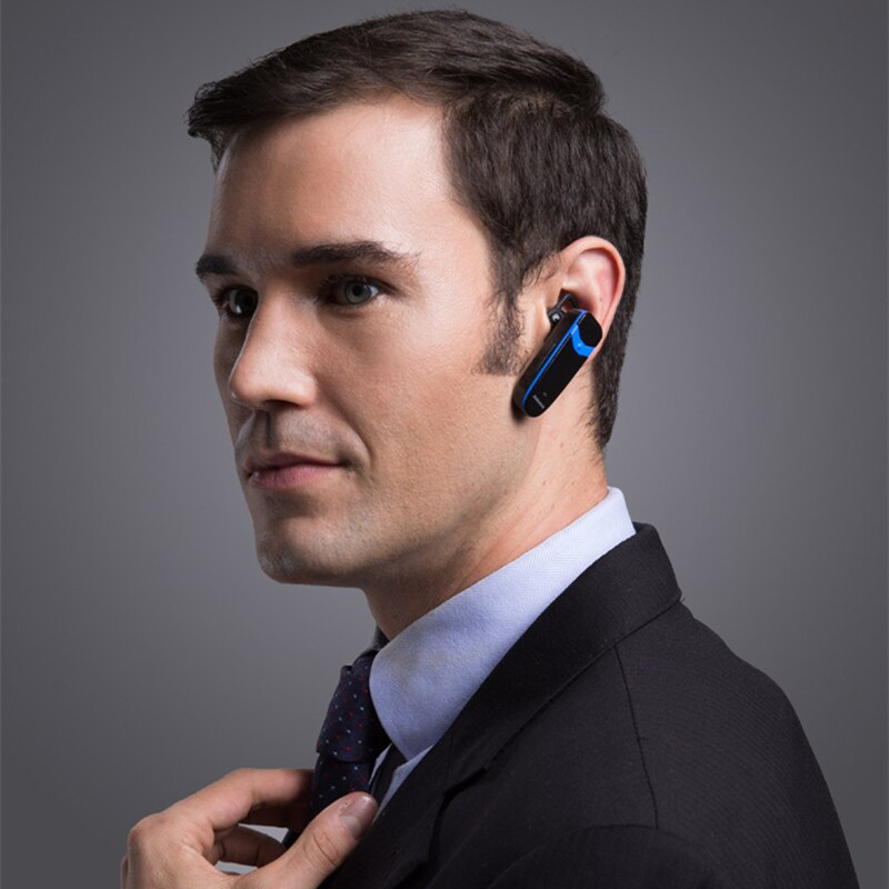 Mini Bluetooth Headset Jabees Victor Handsfree Earphone Noise Cancelling
