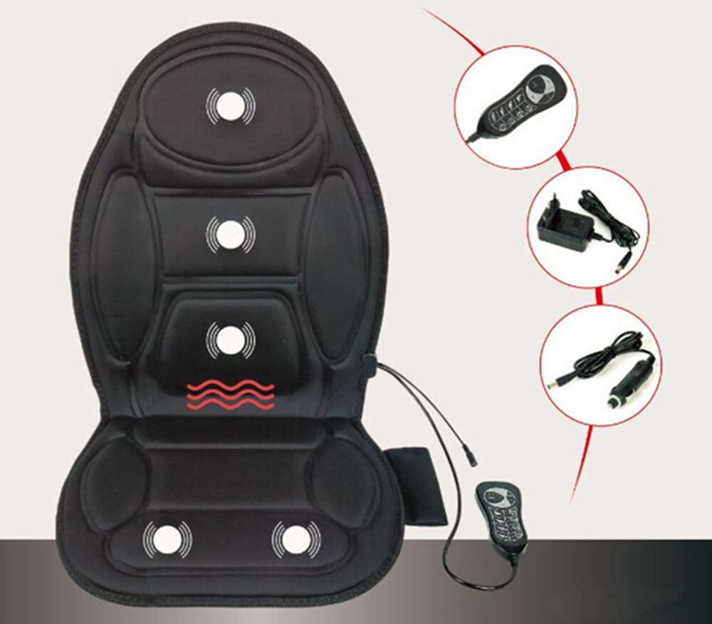 New Exclusive 2 in 1 Car Home Heating Massage Cushion
