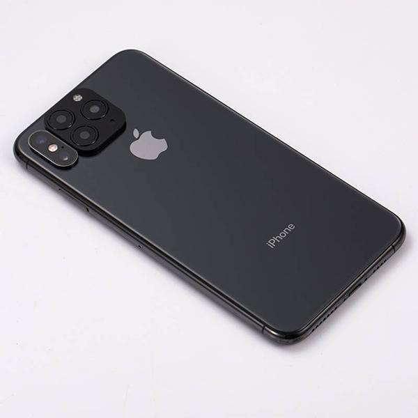 Stylish Modified Camera Lens With Titanium Alloy Glass Cover For iPhone - Pkgator
