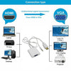 New Exclusive HDMI To VGA Audio HD Video Cable Converter Adapter