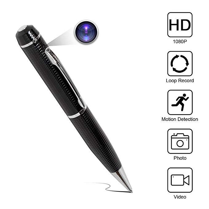 New Exclusive Hidden HD Camera 1080P Pen Wireless Security Camera