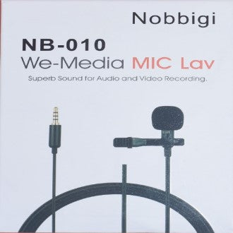 New Luxury Nobbigi NB-010 MIC Lav For Audio And Video Recording