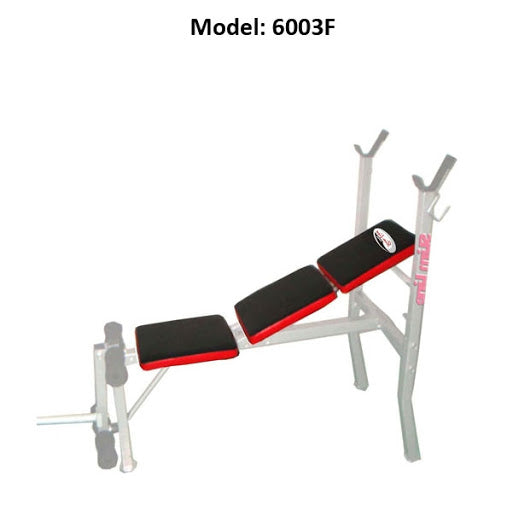 SLIMLINE 6003F Exercise Bench Home Gym Multi Function For Men Women