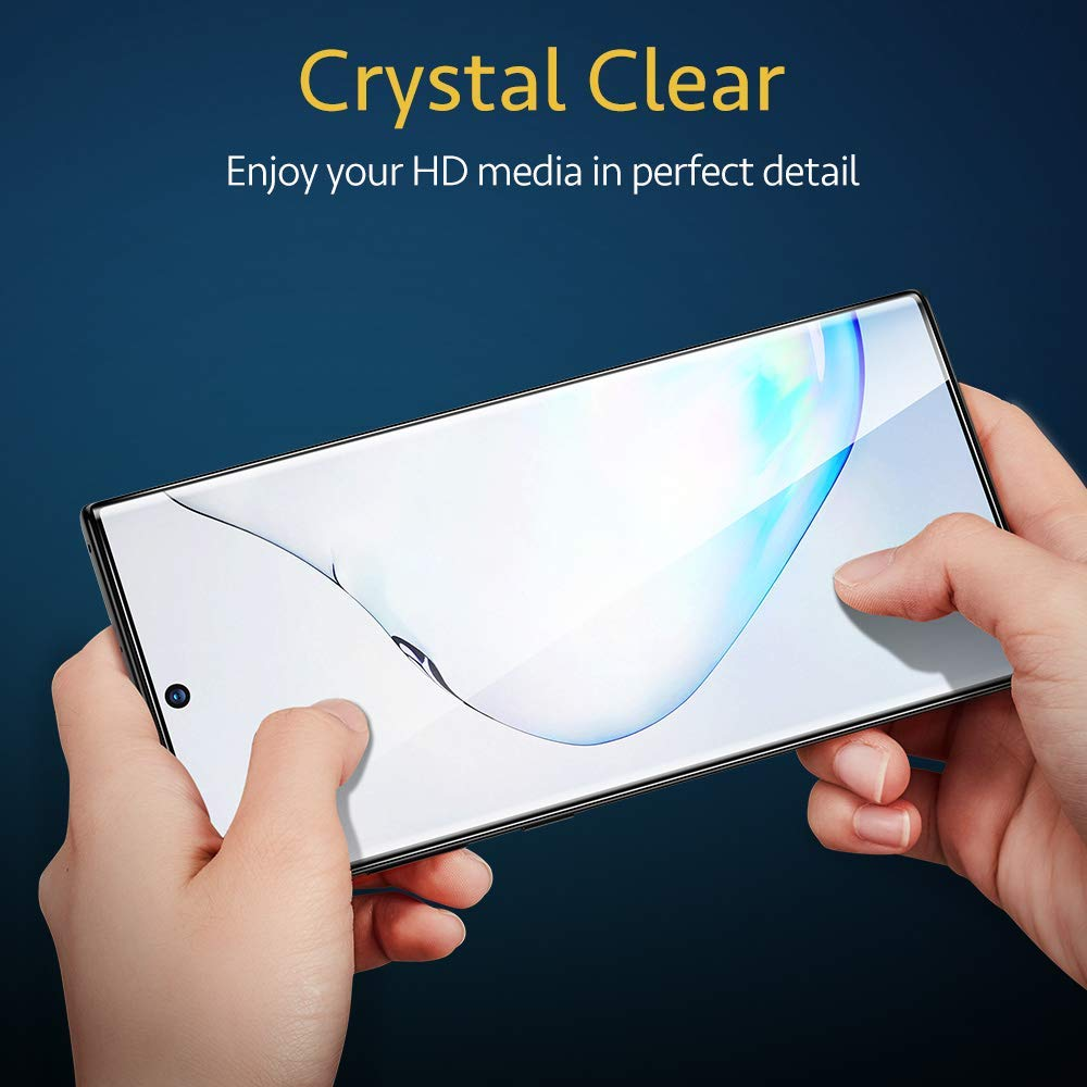 New Exclusive 10 D Pro Plus Tempered Glass For Samsung