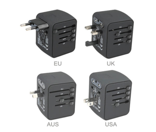 New Exclusive Faster Worldwide Universal Travel Adapter For All Devices - Pkgator
