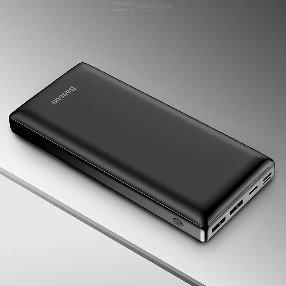 New Exclusive Baseus Mini JA 20000 MAH Power Bank With Two Output - Pkgator