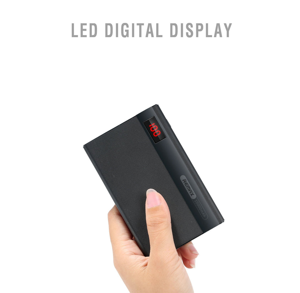 High Quality Remax Linon Pro RPP-53 Digital Display 10000MAh Power Bank