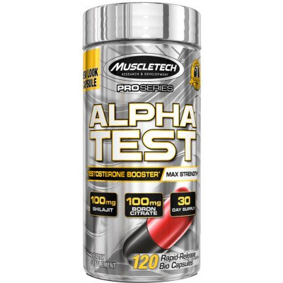 New Muscle Tech Alpha Test 90 Capsules Supplement For Men Women