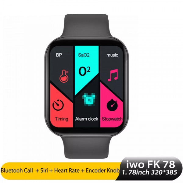 FK 78 Smart Watch Display Support Bluetooth Call Smart Phone Watch