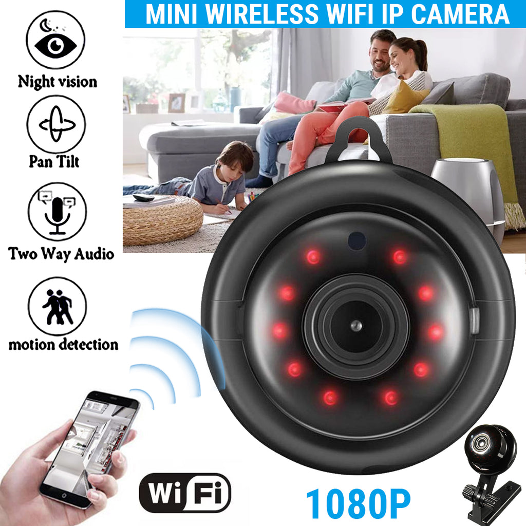 New Exclusive IP Mini Spy Wireless Security Camera WIFI HD Night Vision