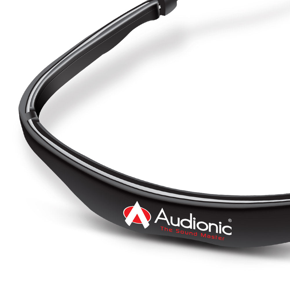 New Audionic Airbeats Bluetooth 5.0 Sport Earphone (Black)