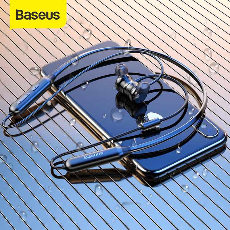 Baseus S15 Wireless Bluetooth Sports Noise Cancellation Earphone