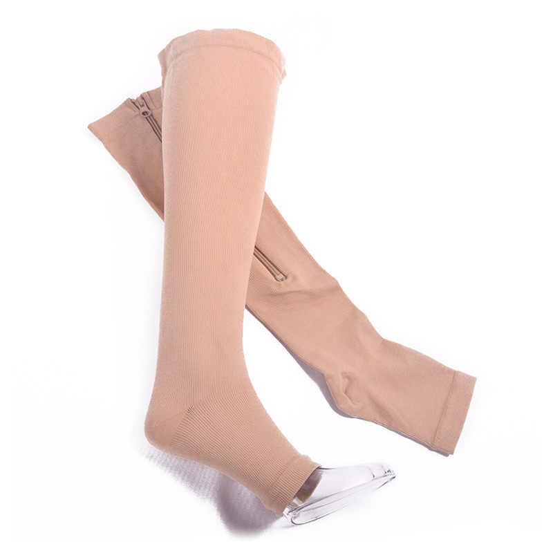 New Compression Socks With Zipper For Women
