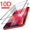 High Quality 10D + Full Cover Protective Tempered Glass For iPhone