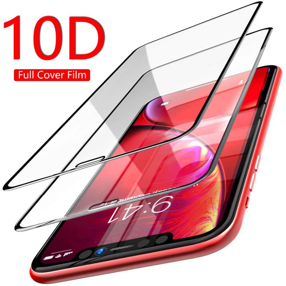 High Quality 10D + Full Cover Protective Tempered Glass For Samsung