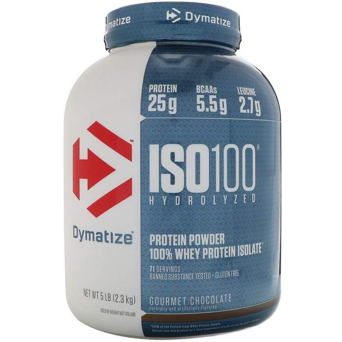 New Dymatize ISO 100 5 Lbs Supplement For Men Women